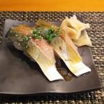 玄海鮨 - で、サバ×2 追加