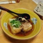 114765567 - 揚げ出汁豆腐