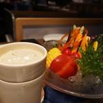 114768743 - シェフ厳選野菜のバーニャカウダ