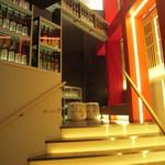 べに屋 - 2階への階段