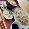 や乃家 - 料理写真:冷や汁と十割蕎麦のもりセット