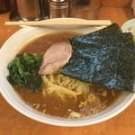らー麺 家道 - 家系中華蕎麦(大)