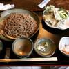 手打ちそば処 麓 - 料理写真:野菜天せいろ(大盛) ¥1,050+200-