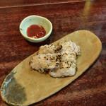 浜吉 - ●鱧の炙り