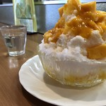 フルーツパーラー タワワ - マンゴーのかき氷