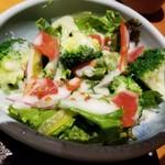 えんの蔵 - ブロッコリーサラダ