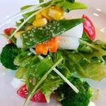 カフェレストランおきらく亭 - 野菜アップ