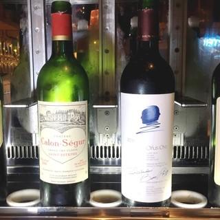 あの憧れの高級ワインがグラスで飲めるワインセーバー設置店!!