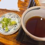 手打ちそば 草戸庵 - 生ワサビが美味しい。