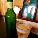 フラノバーガー - ビール 500円