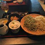 茶禅一 - 雲上蕎麦セット1400円です。