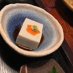 茶禅一 - モチモチした胡麻豆腐の食感。丁寧に作られた蕎麦豆腐です!