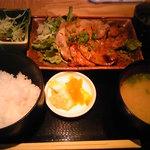 1148400 - 生姜焼き定食(日替わり)
