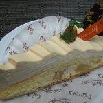 1148794 - MON AMOUR KOBE〜「おいしい」と「かわいい」を神戸で。-レーブドゥシェフリンゴのキャラメルクリームタルト