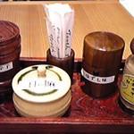 越後十日町小嶋屋 - 薬味セット