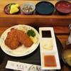 むさし乃 - 料理写真:ランチ限定:フィッシュフライ定食(800円) この日はどんちっちアジのアジフライ ゲロうま♪
