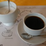 TRATTORIA L'AMATRICIANA - コーヒー