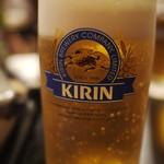 114811178 - 生ビール(一番搾り)