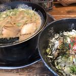 やまざき屋 - 料理写真:山とんとん・明太子丼♪