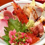若鮨 - 極楽丼