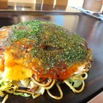 うさぎや - 広島焼*豚チーズ