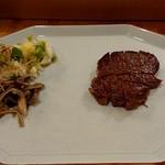 美酒喰処 タケウチ - 和牛ステーキ