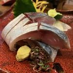 ちゃぶ屋かりゆし - 美しい〆鯖、美味い!