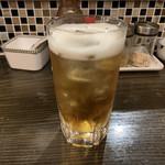 串かつ・一品料理 串たつ - レモンバーム酒ソーダ割