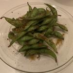 curry bar nidomi - 焼き枝豆スパイスバター醤油