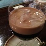 武蔵野珈琲店 - アイリッシュコーヒー  阿刀田高さんのコーヒー党奇談を読むべし