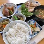 味工房 藍花 - 柚子胡椒風味のポークソテー 820円