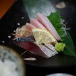 11485263 - 鮮魚の刺身セット(780円)