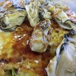 お好み焼き ひろかわ  - お好み肉玉うどん+牡蠣入り