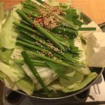 114864355 - 博多名物 もつ鍋 (*´ω`*) 味噌味
