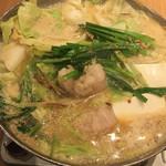 114864360 - 博多名物 もつ鍋 (*´ω`*) 味噌味