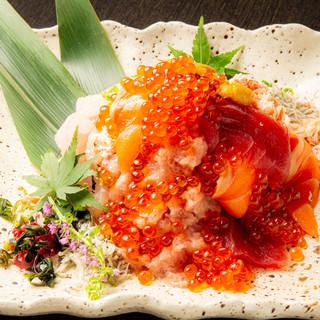 海鮮こぼれ寿司