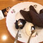 ディー・カッツェ - チョコネコーン ドリンクとセットで1000円