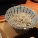 神田魚金 - しらす