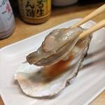 かき焼き はじめ - [料理] 焼き牡蠣 (プレーン) アップ♪w