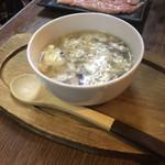 地どり焼 藤田屋 - 鶏スープ
