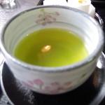 お茶の実雪うさぎ工房カフェ - ドリンク写真:お茶問屋五十右園の緑茶