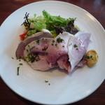Le Vert Frais - 前菜・白金豚の自家製ハム