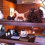 喫茶 ほ - 「ほ」と書かれてるカップや可愛い小物雑誌類