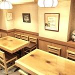 八幡鮨 - 2Fテーブル席(8席)