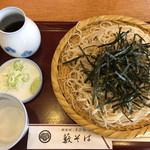やぶそば - 料理写真:ざる(700円)