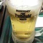 11488082 - キンキンに冷えたビールがありがたい
