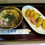 富味屋 - 料理写真:うどんセット(880円)