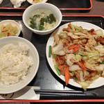 龍驤 - 回鍋肉 700円