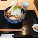 蔵舞たぬき - 料理写真:蔵舞たぬきそば  900円