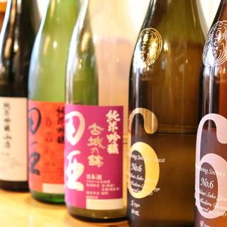 日本酒と地酒たち